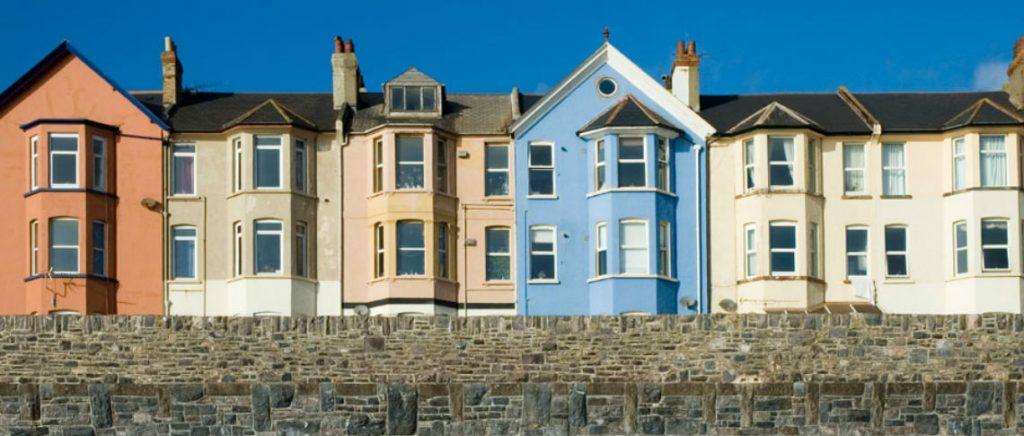 Coloured Terrace Houses